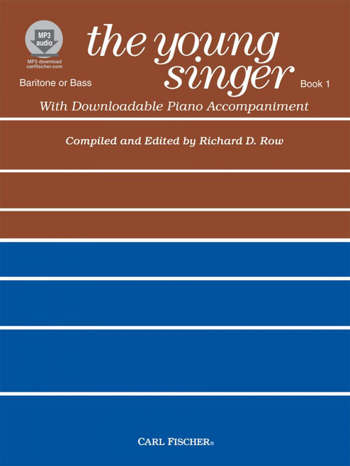 The Young Singer Book 1 - Baritone / Bass