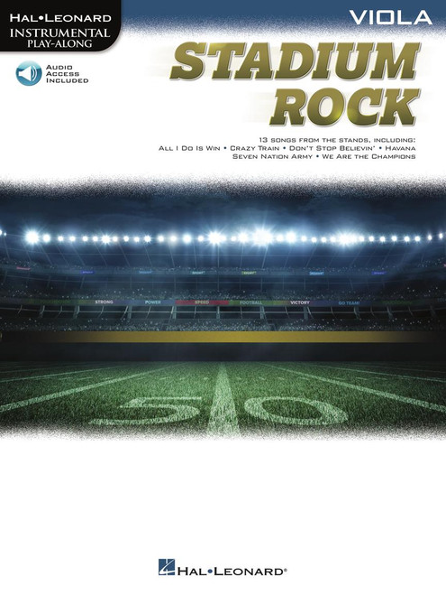 Stadium Rock (13 Songs from the Stands) for Viola - Songbook with Online Accompaniments