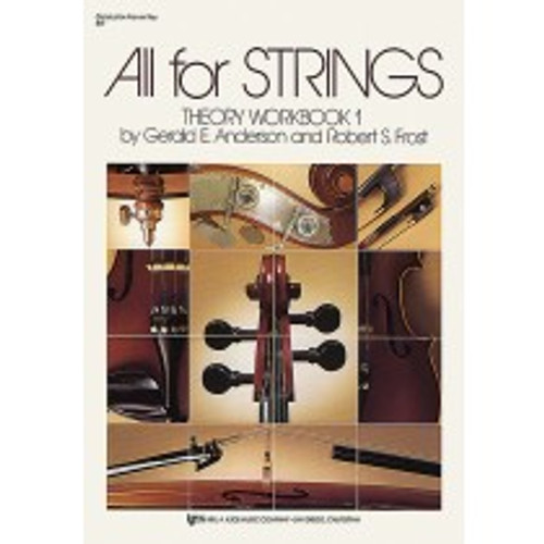 All for Strings - Theory Workbook 1 - Violin