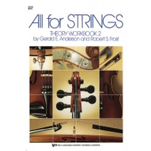 All for Strings - Theory Workbook 2 - Cello