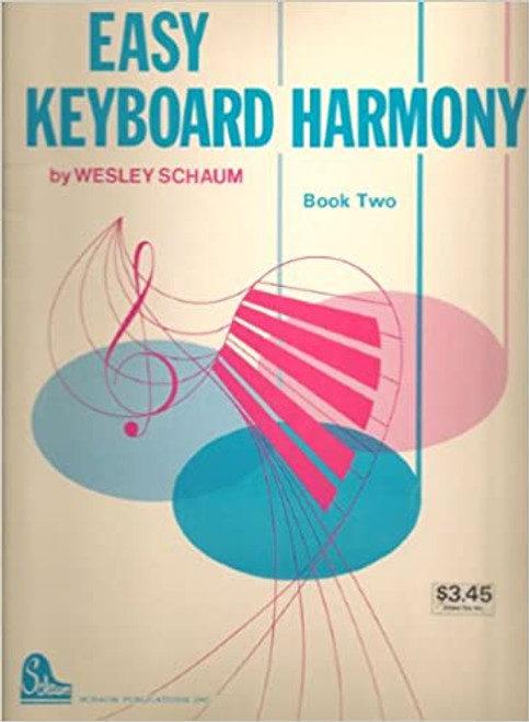Easy Keyboard Harmony - Bk. 2