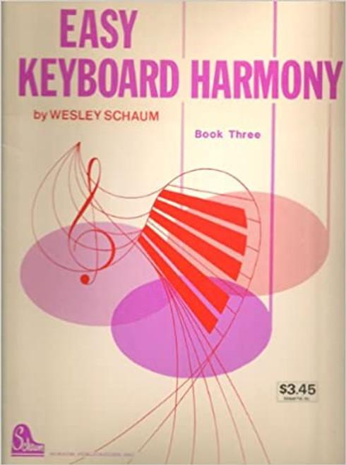 Easy Keyboard Harmony - Bk. 3