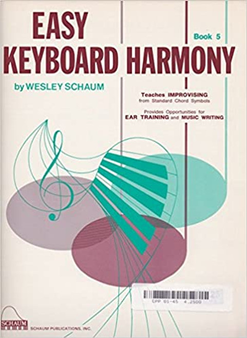 Easy Keyboard Harmony - Bk.5