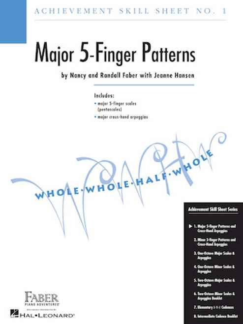 Faber - Skill Sheet No. 1 - Major 5-Finger Patterns