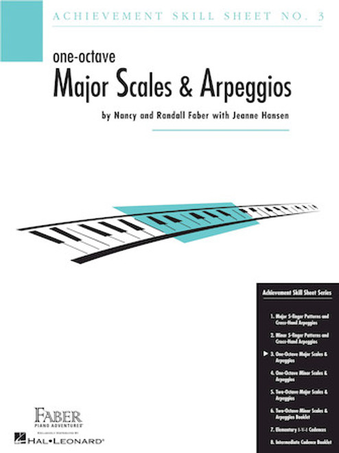 Faber - Skill Sheet No. 3 - One-Octave Major Scales & Arpeggios