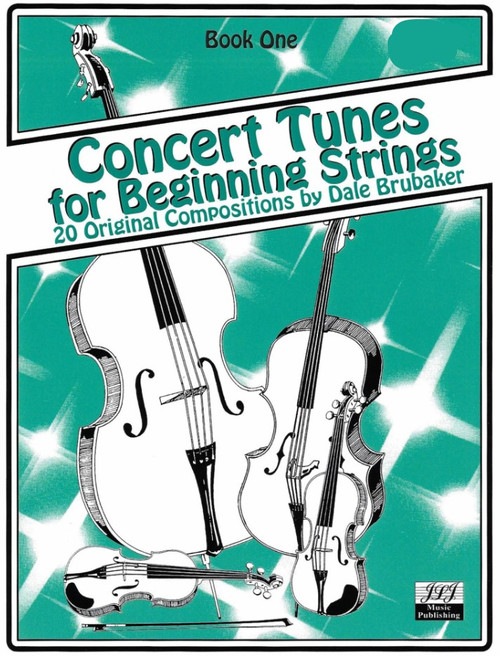Concert Tunes for Beginning Strings Book 1 - Bass