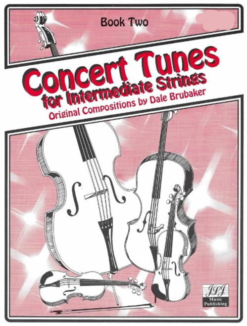 Concert Tunes for Intermediate Strings Book 2 - Bass