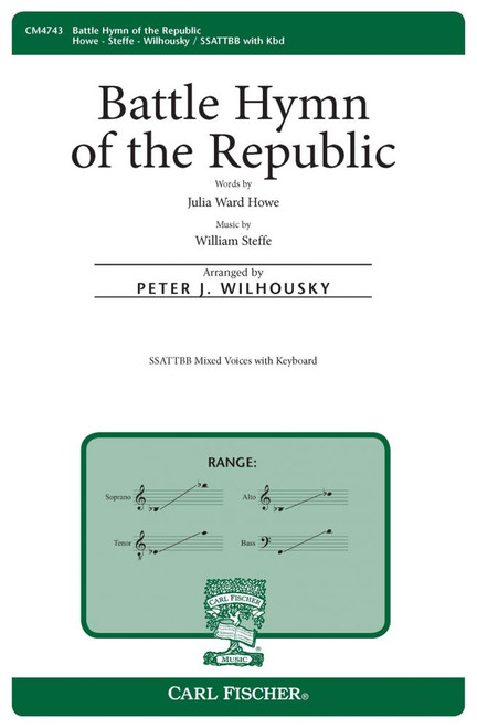 Battle Hymn of the Republic - Arr. Peter J. Wilhousky - SSATTBB