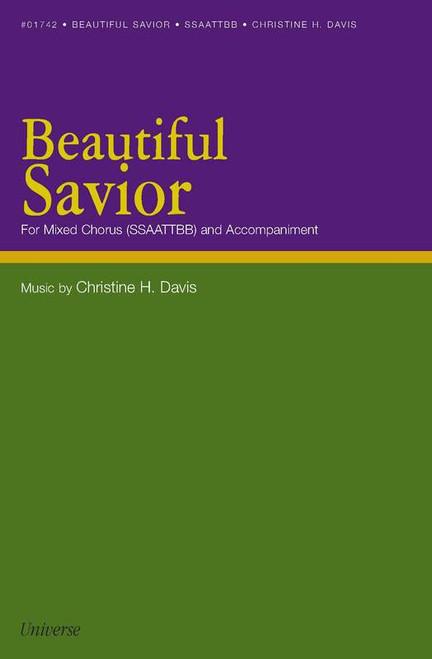 Beautiful Savior - Arr. Christine H. Davis - SSAATTBB and accompaniment