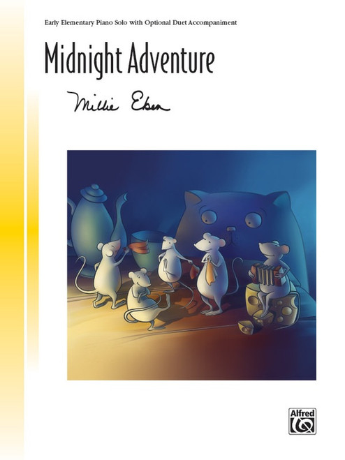 Midnight Adventure by Millie Eben (Early Elementary Piano Solo)