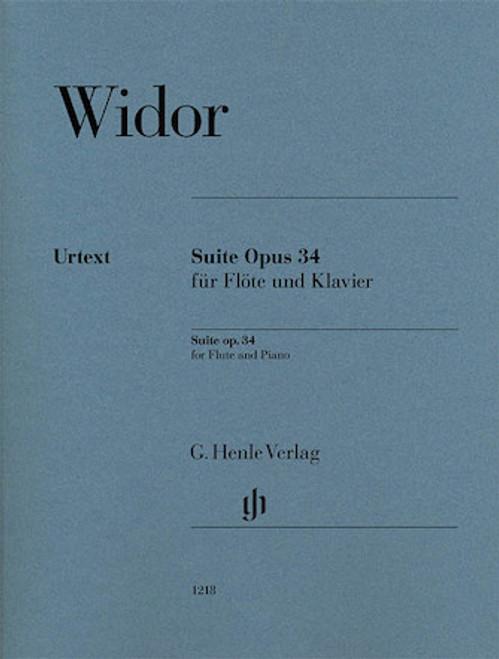 Suite-Opus 34 - Widor