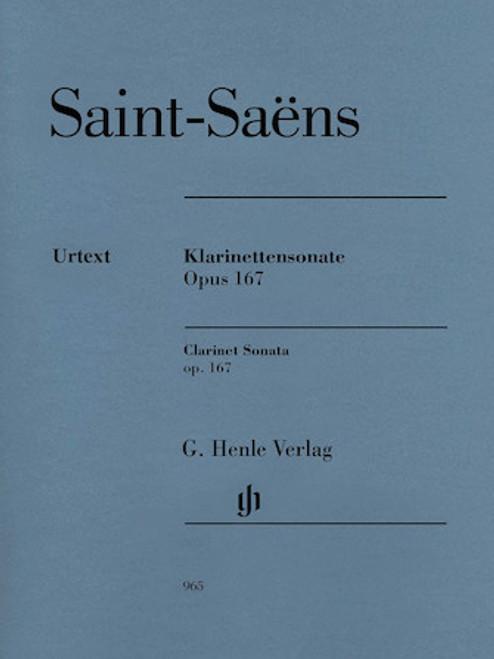 Clarinet Sonata-Opus 167 - Saint-Saens