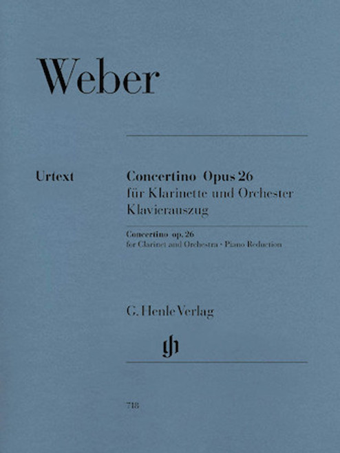 Concertino Opus 26 - Weber
