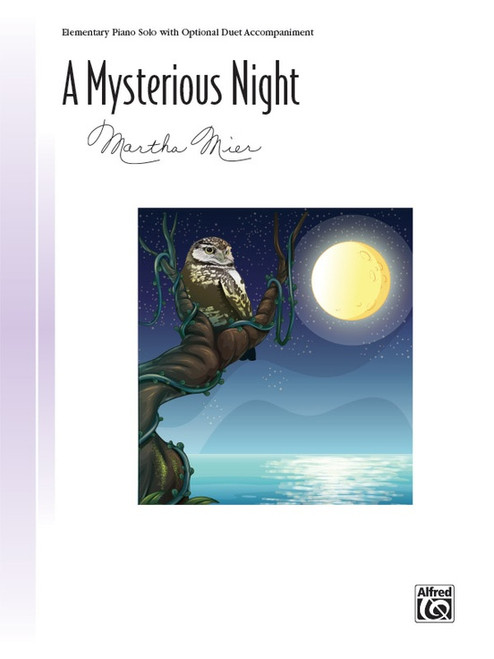 A Mysterious Night by Martha Mier (Elementary Piano Solo)