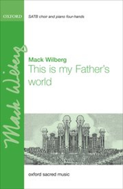 This is My Father's World - Arr. Mack Wilberg - SSATTBB and 4-hand piano