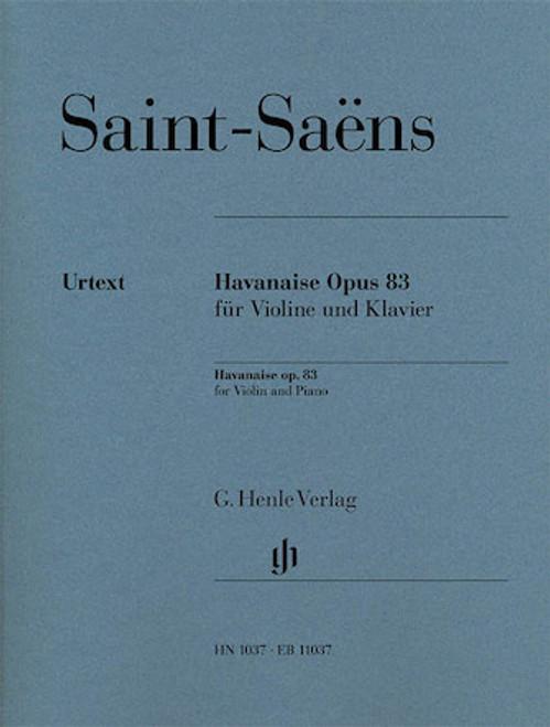 Havanaise Op. 83 - Saint-Saens