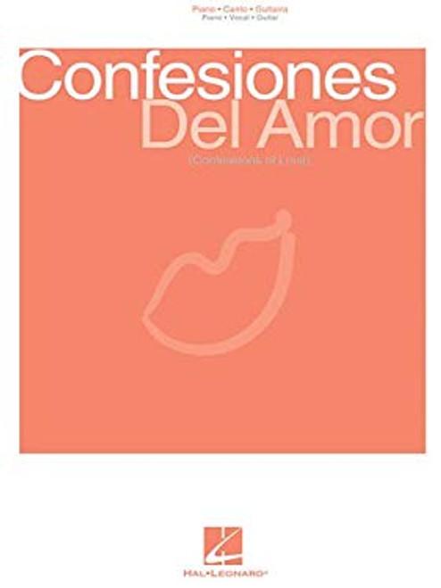 Confesiones del Amor - Piano/Canto/Guitarra