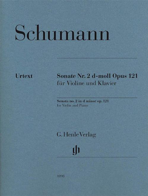 Sonata No. 2 in D-Minor Op. 121 - Schumann - Urtext