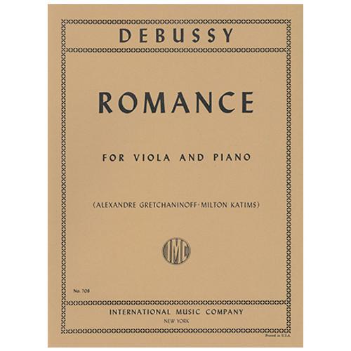 Romance - Debussy - Viola