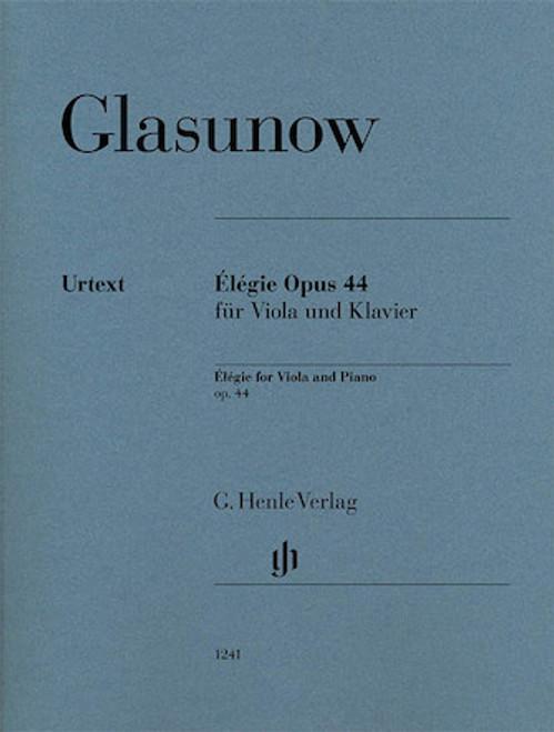 Elegie - Glasunow - Viola