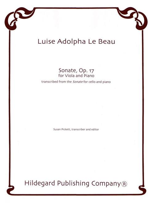 Sonate Op. 17 - Viola