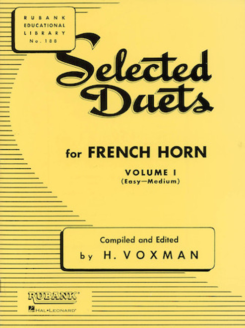 Selected Duets for French Horn by H. Voxman - Volume 1