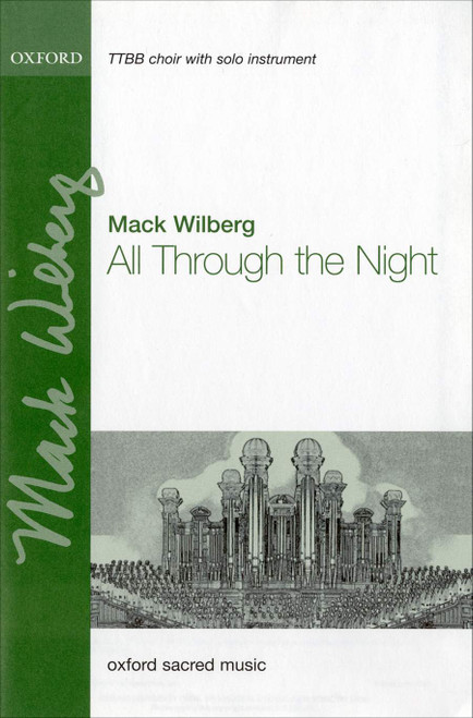 All Through the Night - arr. Wilberg - TTBB, Piano, Solo Instrument
