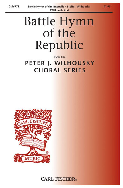 Battle Hymn of the Republic - arr. Wilhousky - TTBB and Piano