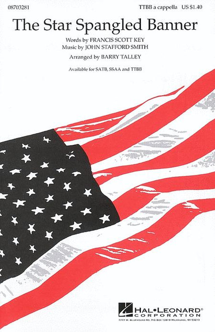 The Star Spangled Banner - arr. Talley - TTBB a cappella