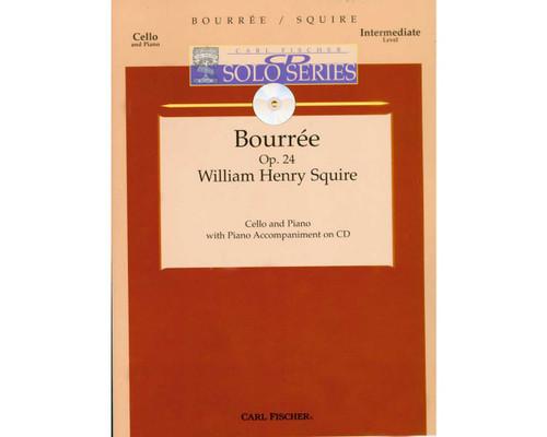 Bourree Op. 24 - Squire - W/CD