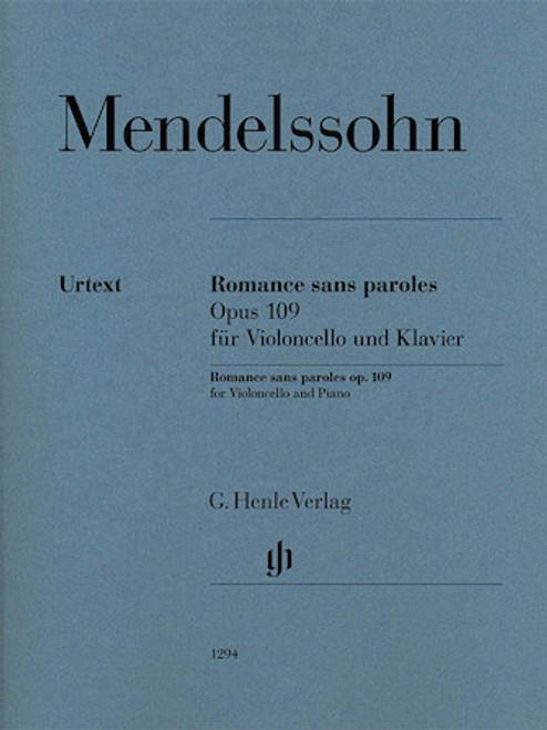 Romance Sans Paroles - Mendelssohn