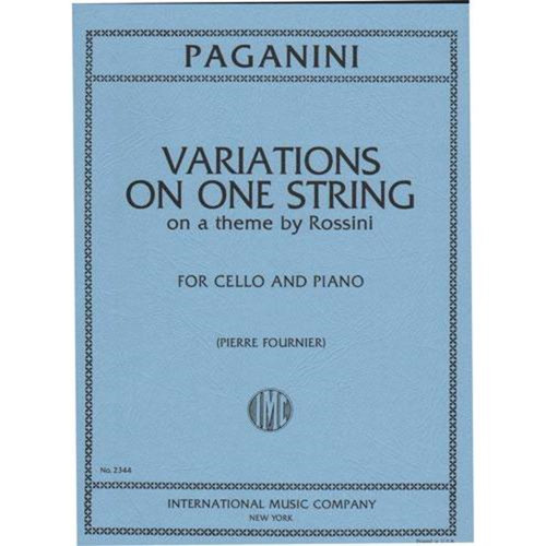 Variations On One String - Paganini