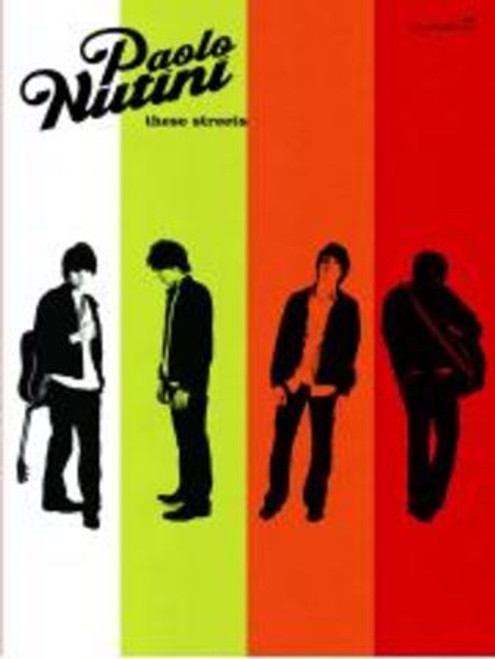 Paolo Nutini - These Streets - Piano / Vocal / Guitar Songbook