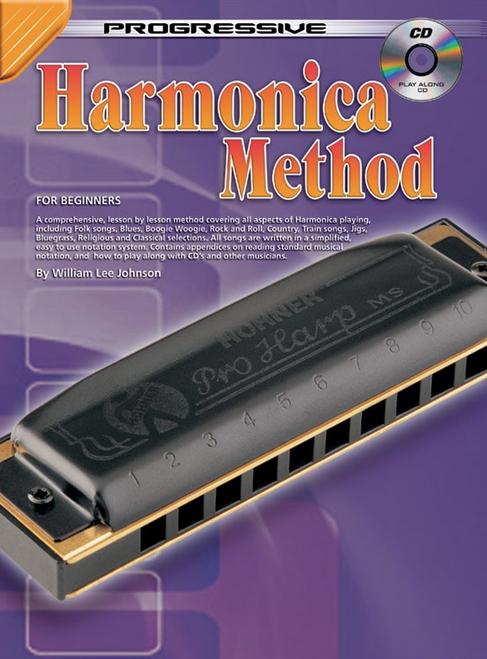 Progressive Harmonica Method (Audio Access Included)