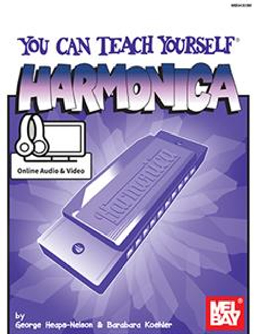 You Can Teach Yourself Harmonica with Online Access