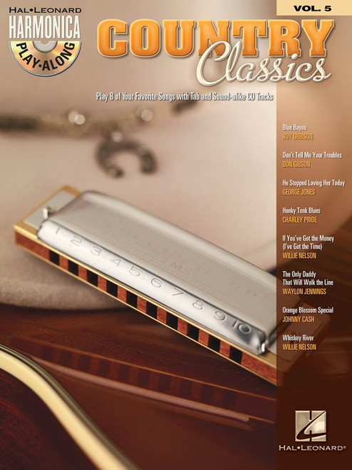 Country Classics - Harmonica Play-Along Volume 5