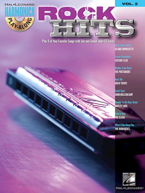 Rock Hits - Harmonica Play-Along Volume 2
