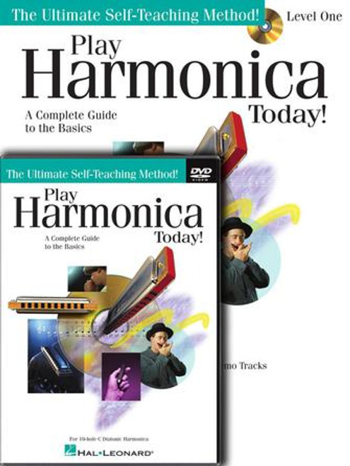 Play Harmonica Today! - Level 1 with DVD