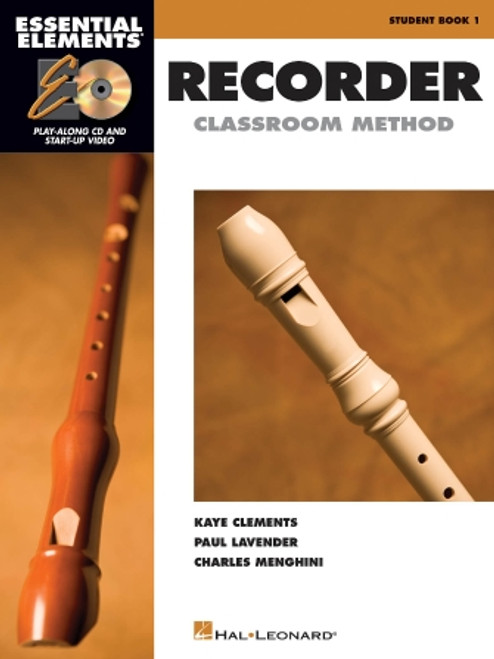 Essential Elements - Recorder Classroom Method - Book 1 with CD