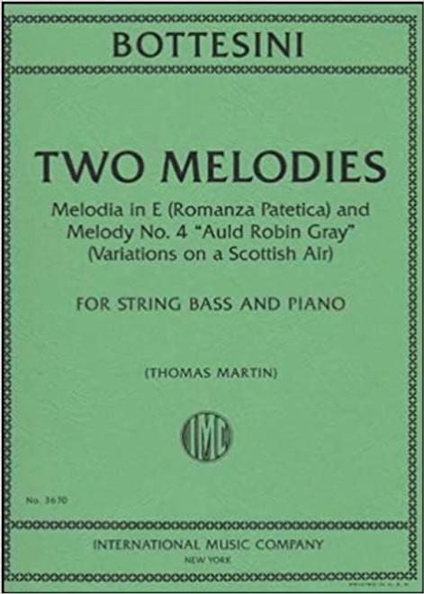 Two Melodies - Bottesini