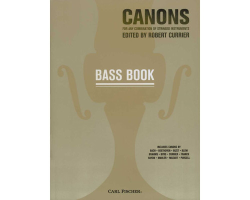 Canons - For Any Combination of String Instruments - Bass