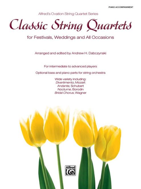 Classic String Quartets - Piano Acc.