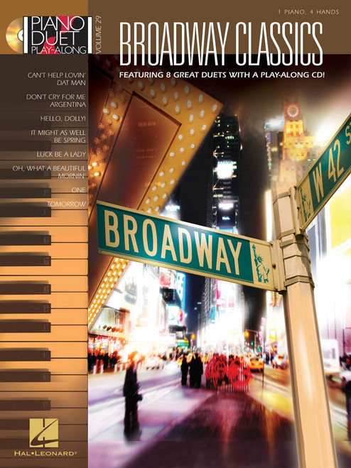 Broadway Classics - Piano Duet Play-Along Vol. 29