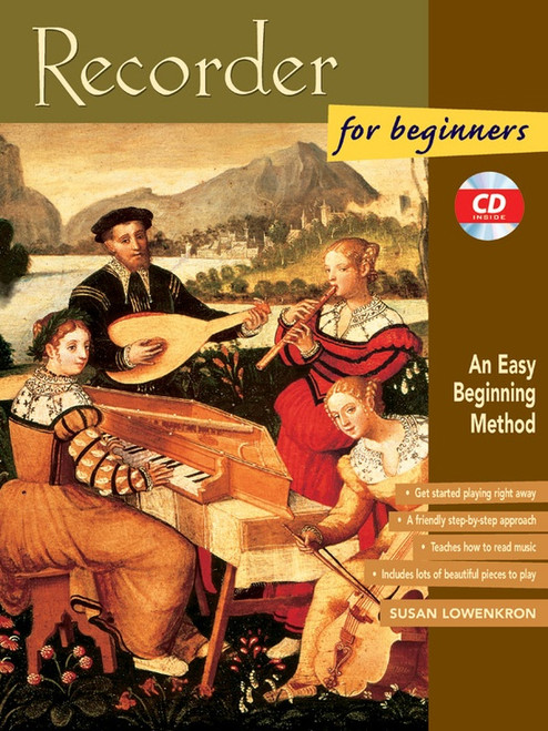 Recorder for Beginners with CD