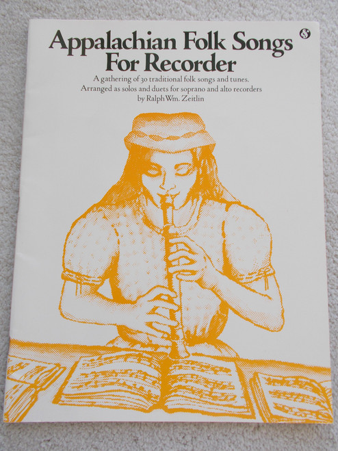 Appalachian Folk Songs for Recorder