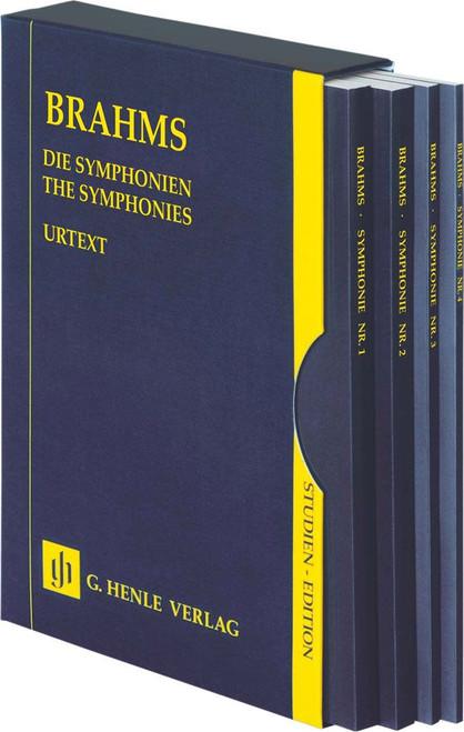 Study Score: Brahms - The Symphonies