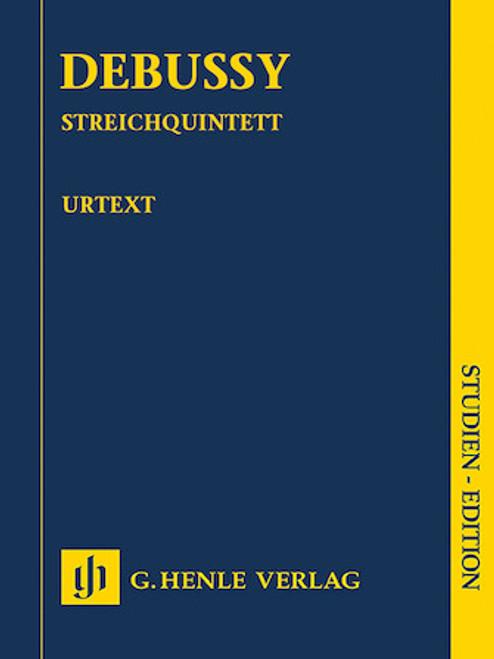 Study Score: Debussy - String Quartet