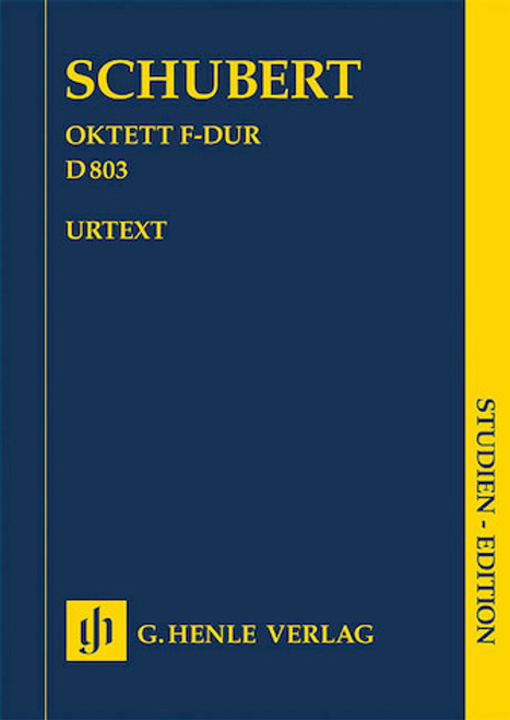 Study Score: Schubert - Octet in F Major, D 803