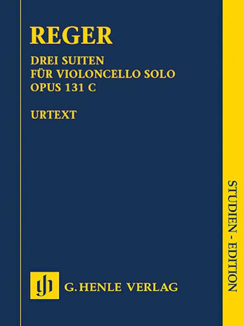 Study Score: Reger - 3 Suites for Violincello Solo, Op. 131 C