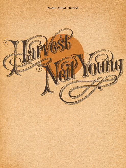 Neil Young - Harvest - Piano / Vocal / Guitar Songbook